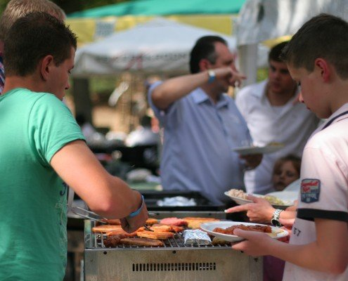 Barbecue arrangement Klimbos Weert
